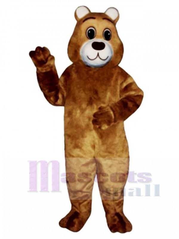 Cute Gentle Bear Mascot Costume