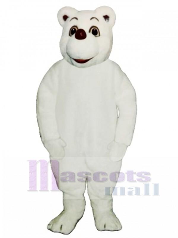 Baby Polar Bear Mascot Costume