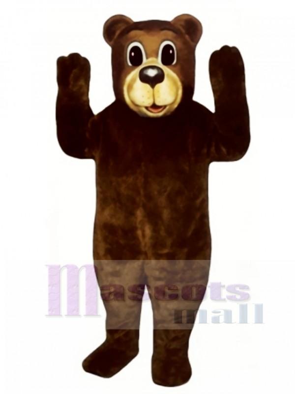 Cute Buford Bear Mascot Costume