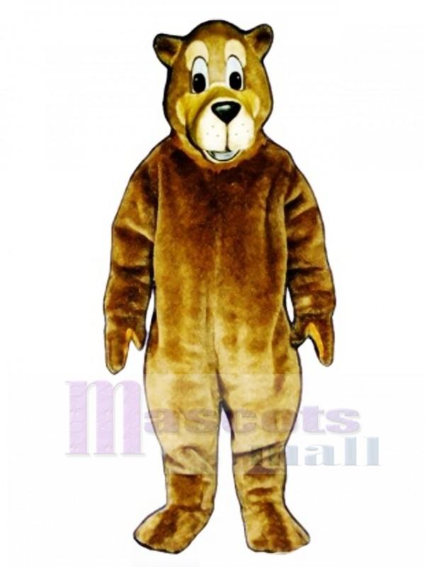 Cute Buster Bear Mascot Costume