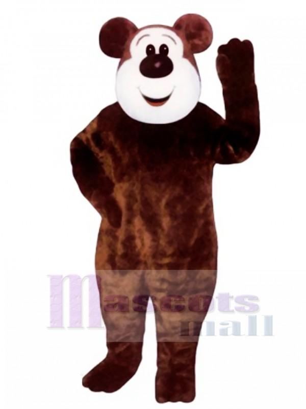 New Big Boy Bear Mascot Costume
