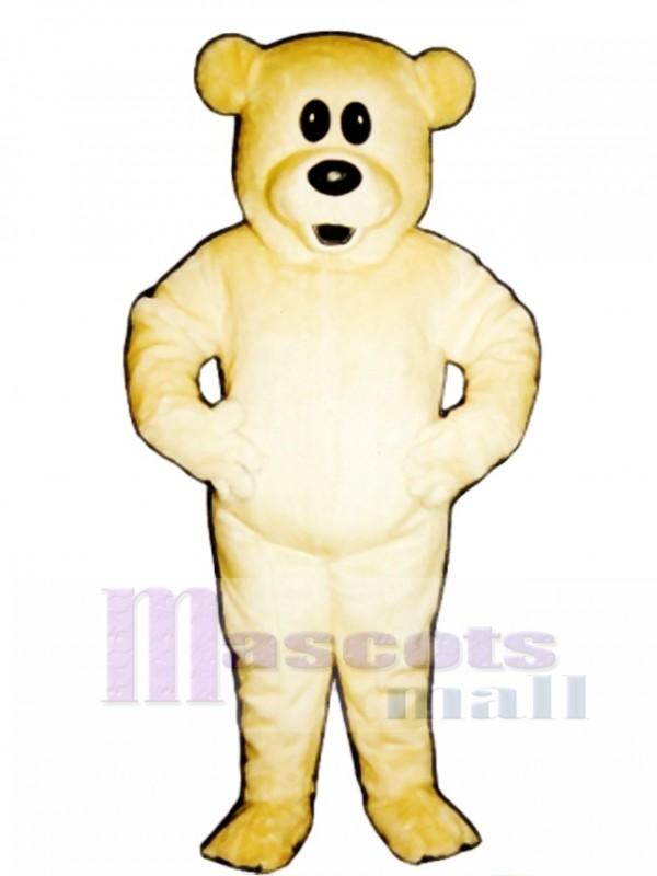 Cute Butterscotch Bear Mascot Costume