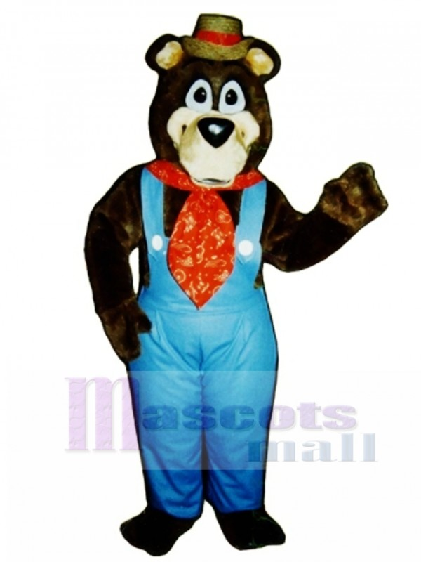 Cute Doggone Bear Mascot Costume