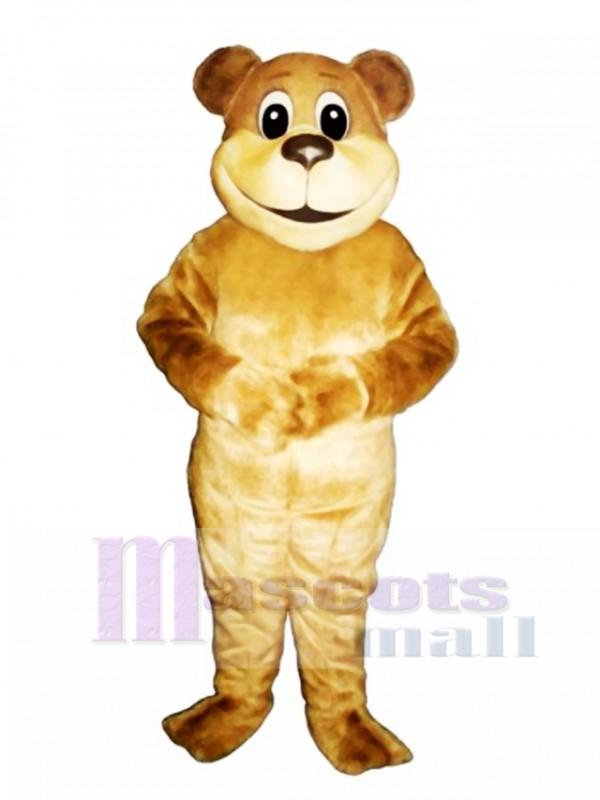 New Benny Bear Mascot Costume
