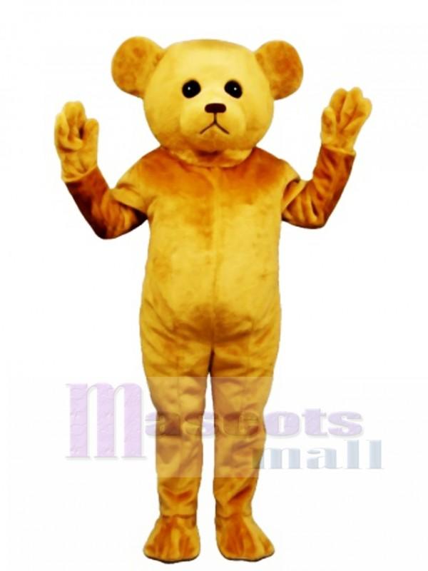 New Tan Teddy Bear Mascot Costume