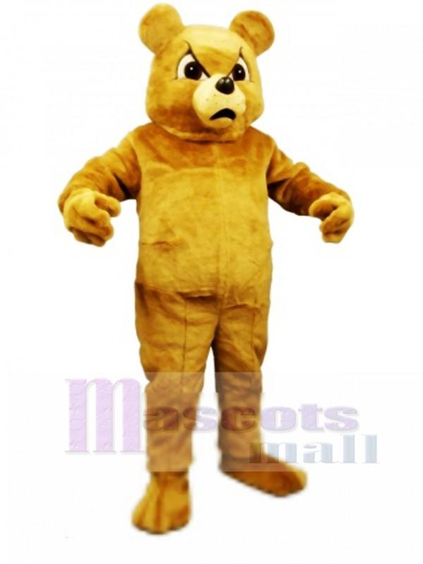 Cute Boxer Bear Mascot Costume