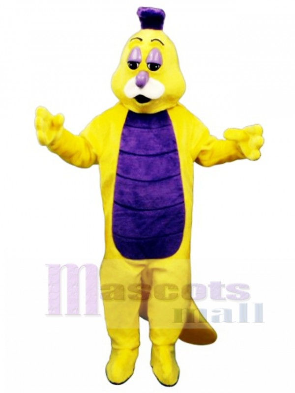 Willy Worm Mascot Costume