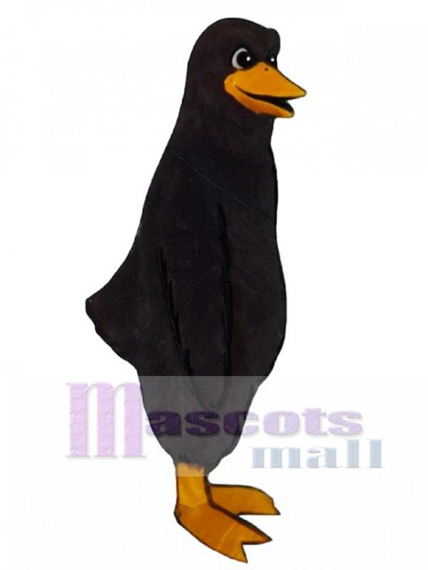 Cute Blackbird Mascot Costume