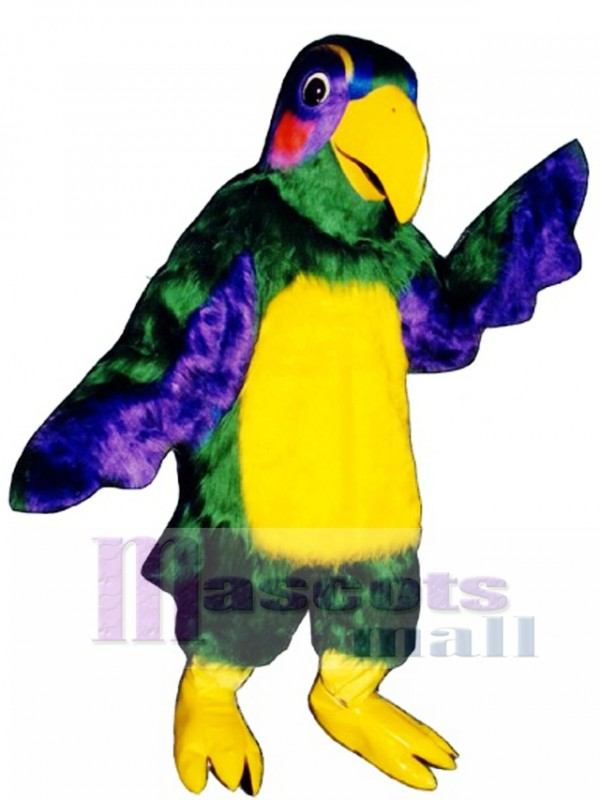 Cute Colorful Parrot Mascot Costume