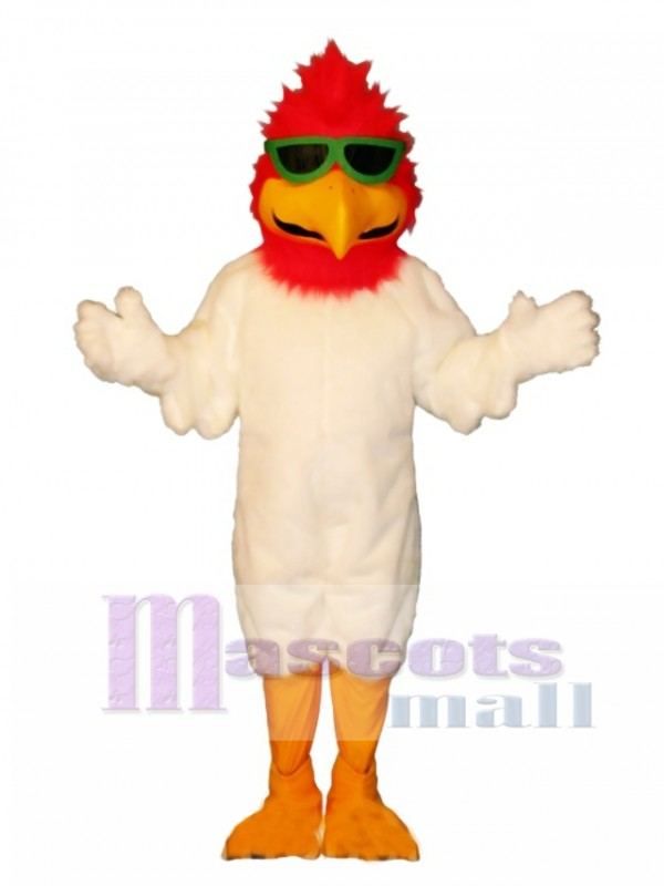Cute Ballistic Bird Mascot Costume