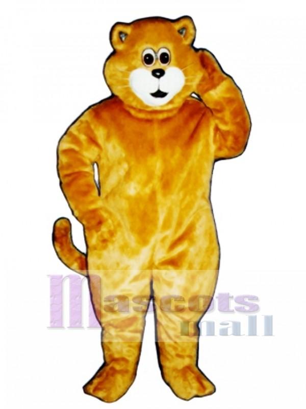 Cute Tommy Cat Mascot Costume