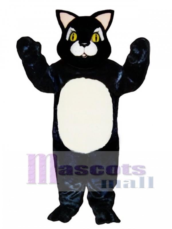 Cute Blackie Cat Mascot Costume