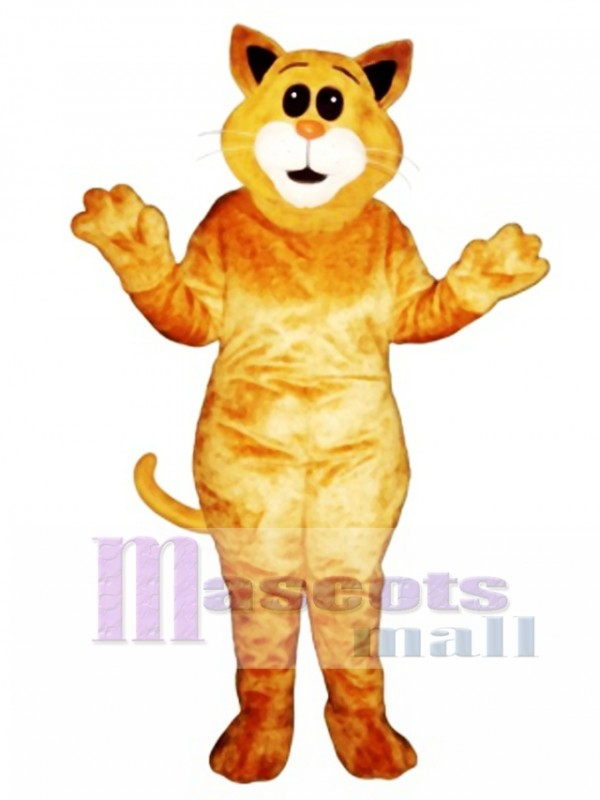 Cute Big Ear Cat Mascot Costume
