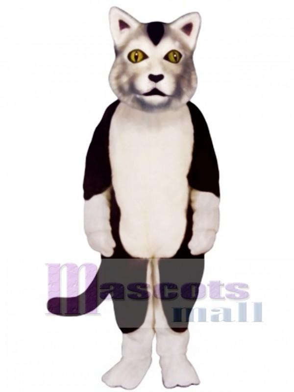 Cute Carlisle Cat Mascot Costume