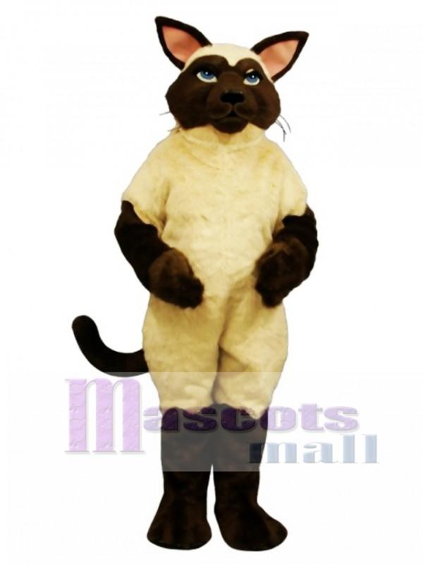 Cute Sally Siamese Cat Mascot Costume
