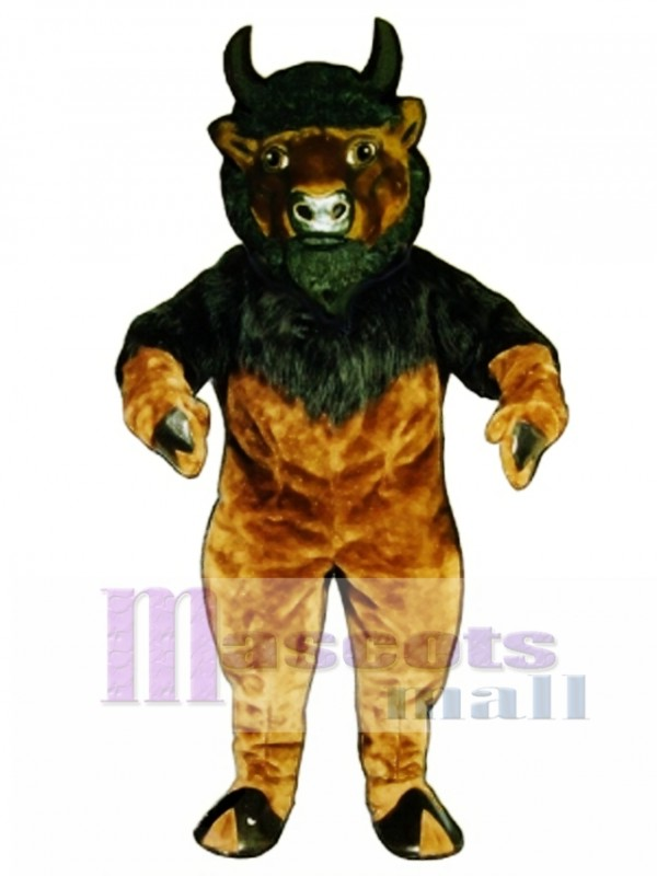 Buffalo Mascot Costume