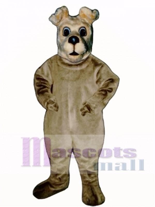 Cute Terrier Dog Mascot Costume