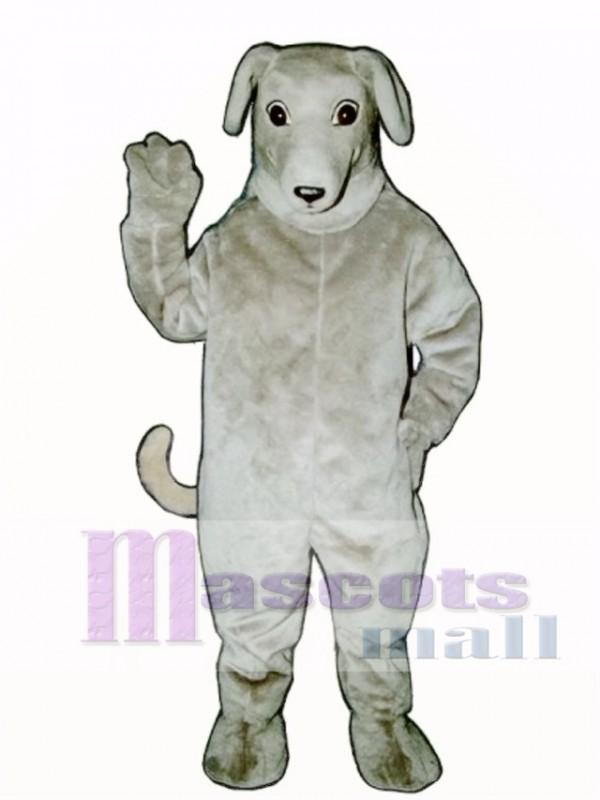 Cute Greyhound Dog Mascot Costume