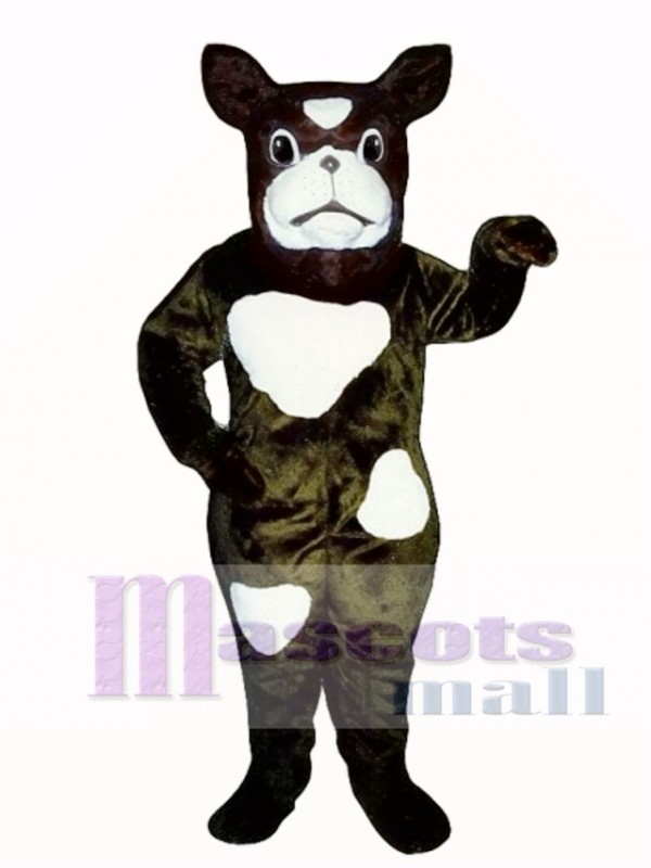 Cute Boxer Dog Mascot Costume