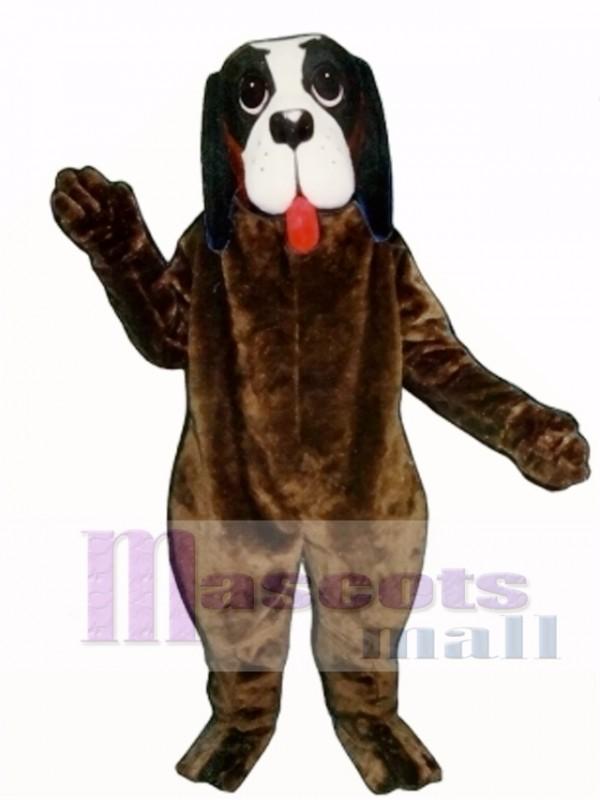 Cute Barney Dog Mascot Costume