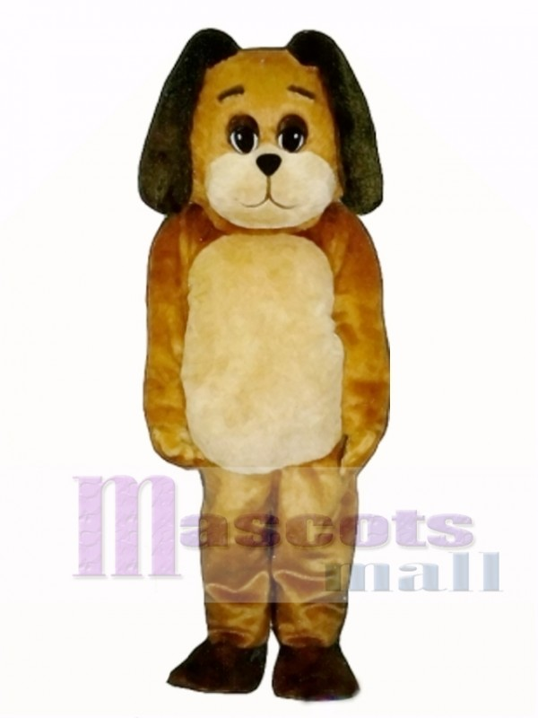 Cute Mortimer Mutt Dog Mascot Costume