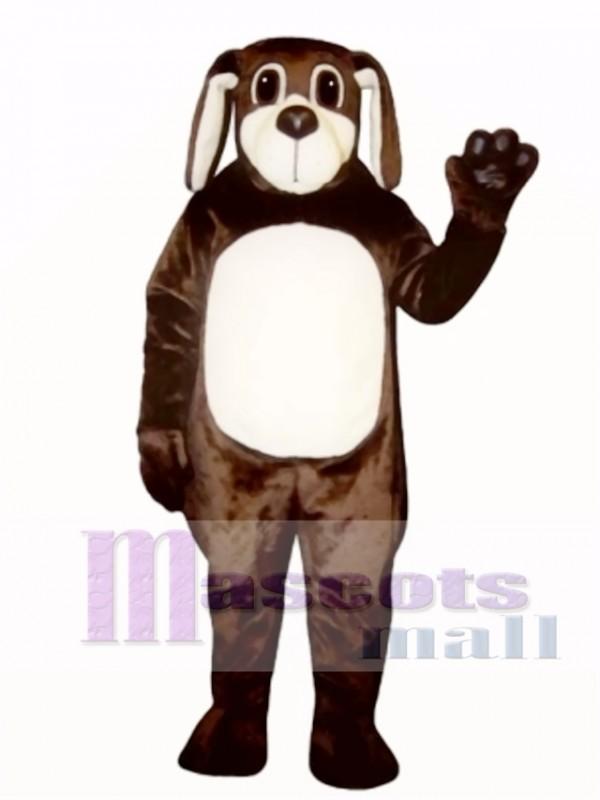 Cute Brown Dog Mascot Costume