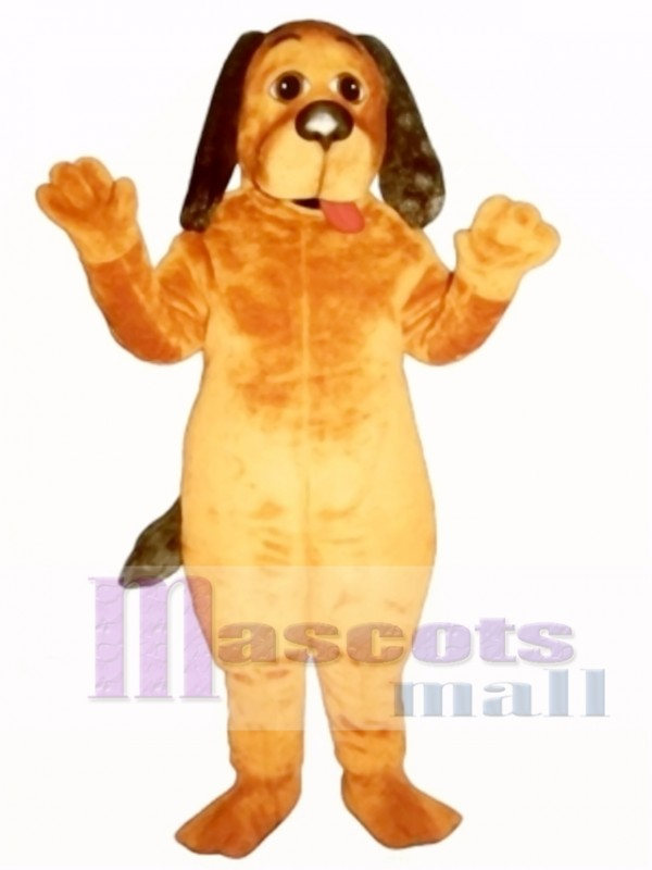 Cute Hound Dog Mascot Costume