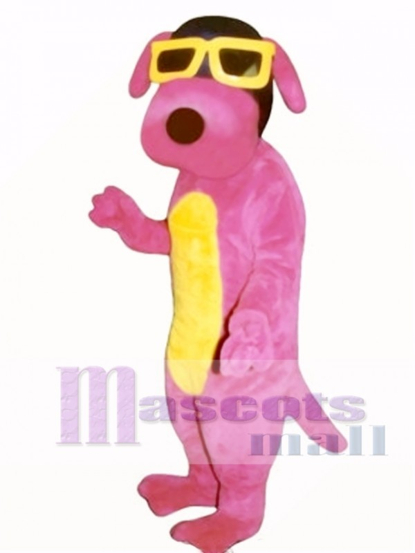 Cute Hot Dawg Dog Mascot Costume