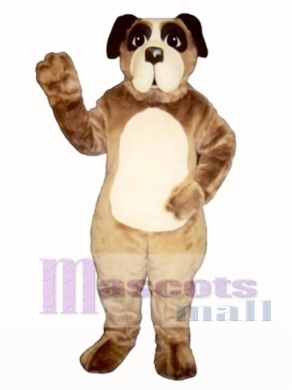 Cute Billie Bernard Dog Mascot Costume