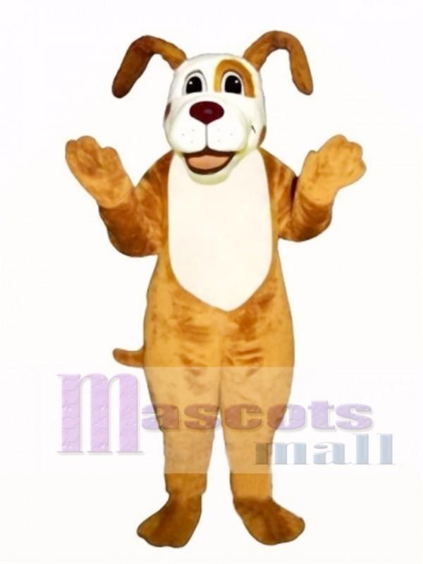 Cute Digger Dog Mascot Costume