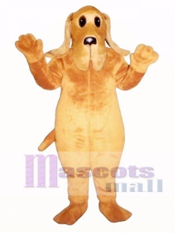 Cute Bently Bassett Dog Mascot Costume