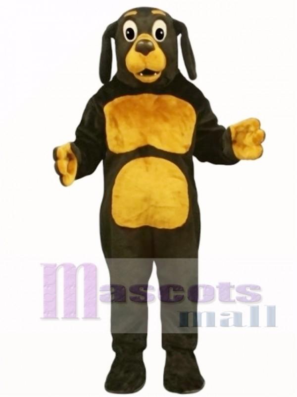 Cute Dobie Dog Mascot Costume