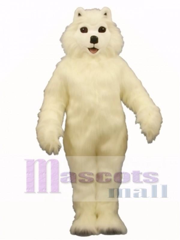 Cute Sam Samoyed Dog Mascot Costume