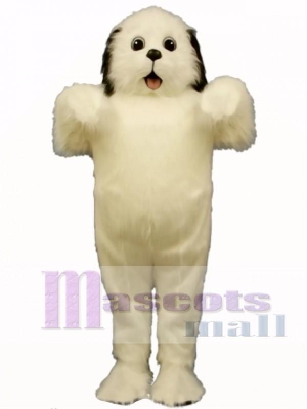 Cute Shaggy Maggy Dog Mascot Costume