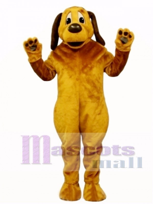 Cute Peter Pound Dog Mascot Costume