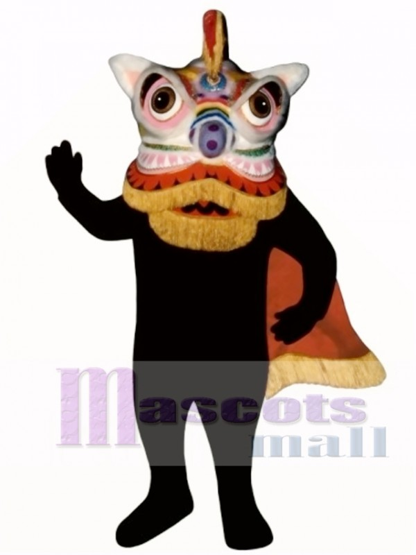 Chinese Dragon Mascot Costume