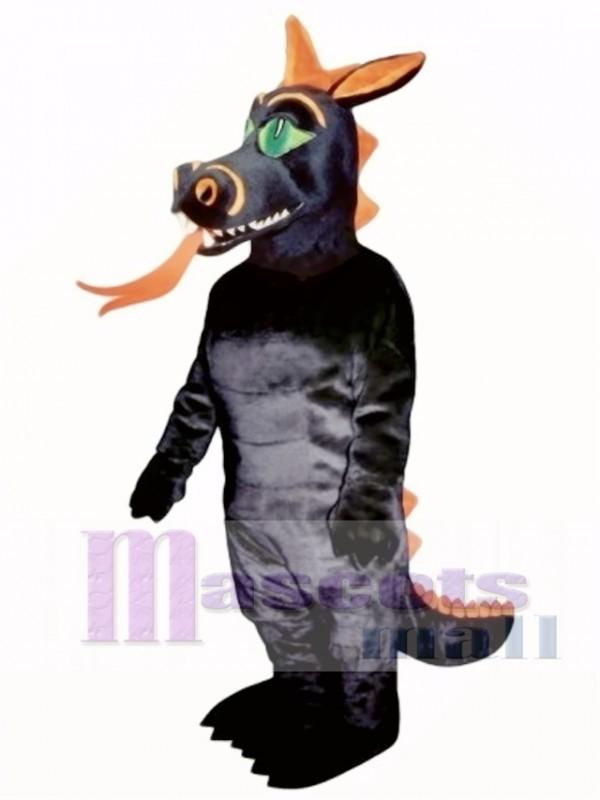 Fire Dragon Mascot Costume