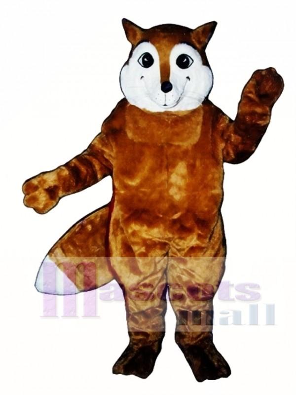 Cute Sly Fox Mascot Costume