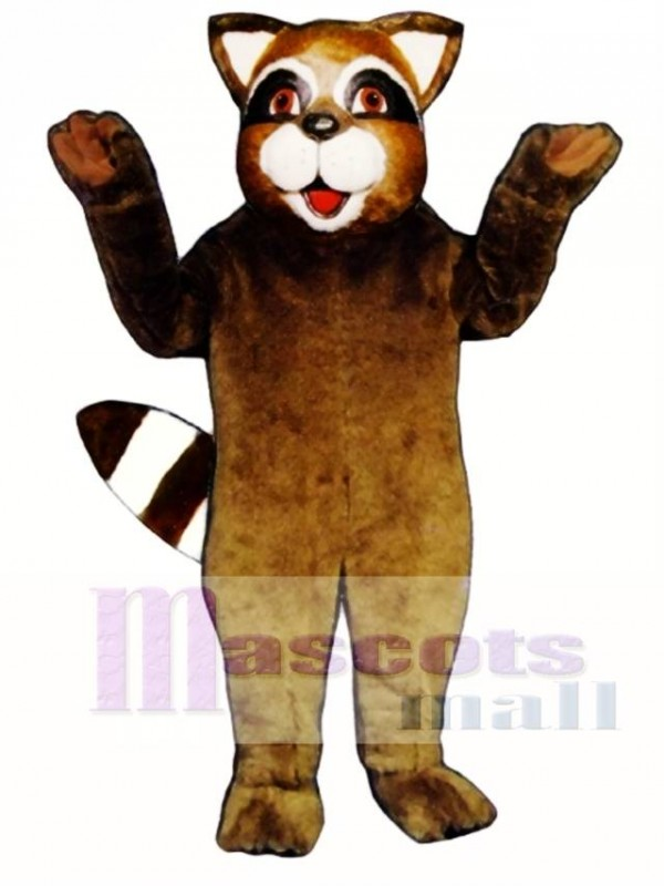 Roxie Raccoon Mascot Costume