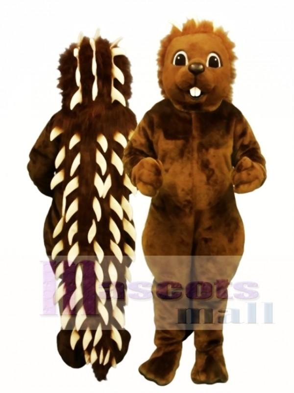 Cute Porcupine Mascot Costume