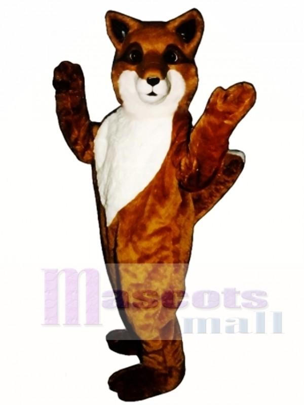 Cute Friendly Fox Mascot Costume