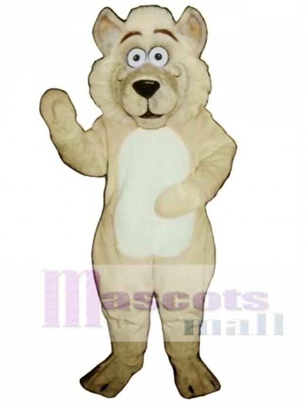 Cute Baby Wolf Mascot Costume