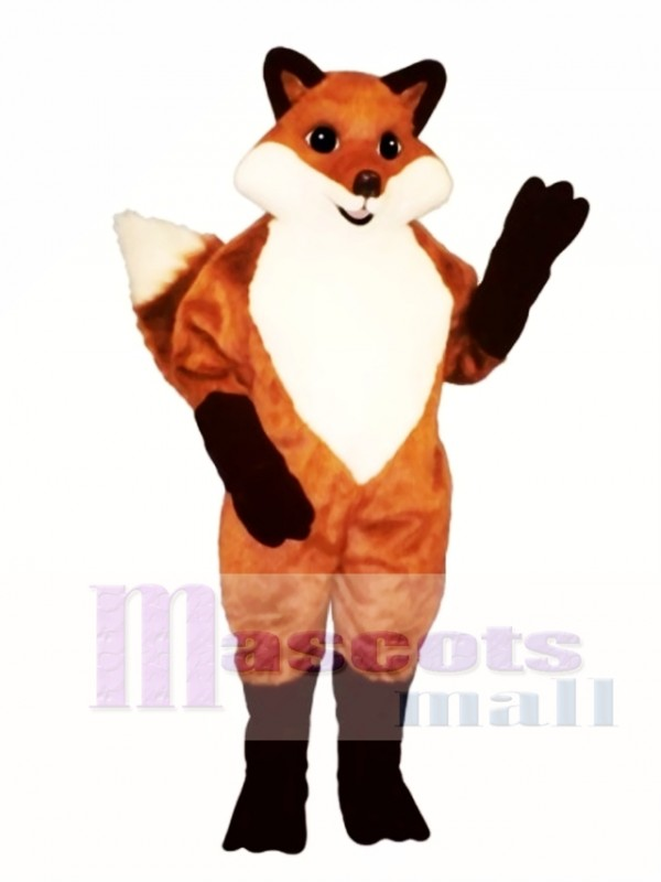 Cute English Fox Mascot Costume