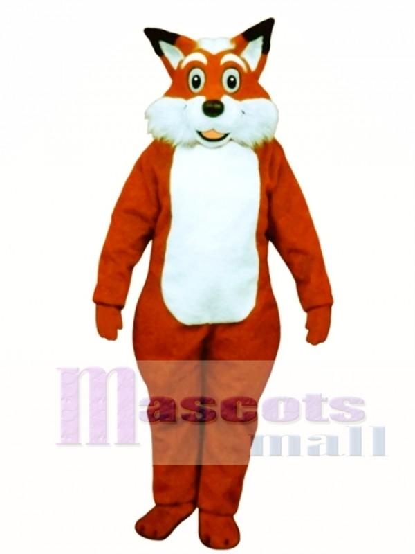 Cute Fred Fox Mascot Costume