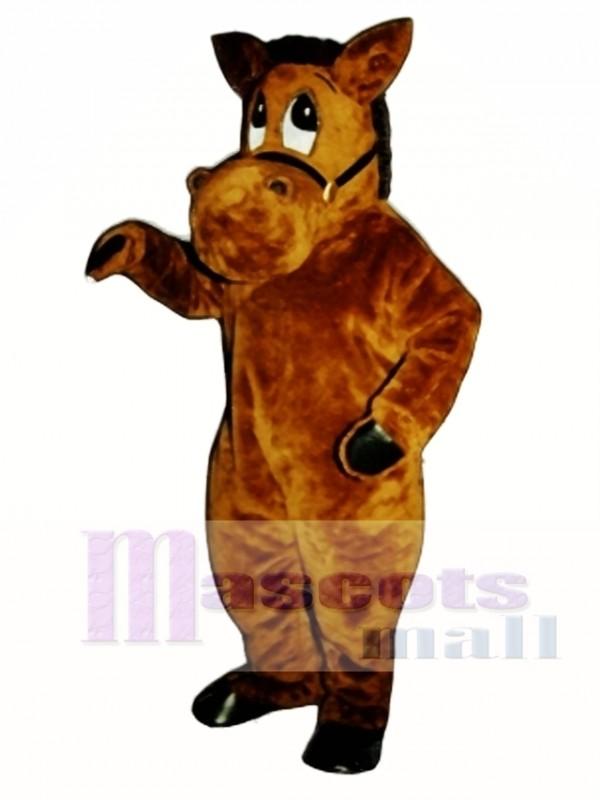 Barney Burro Donkey Mascot Costume