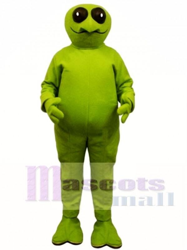 Green Alien Mascot Costume