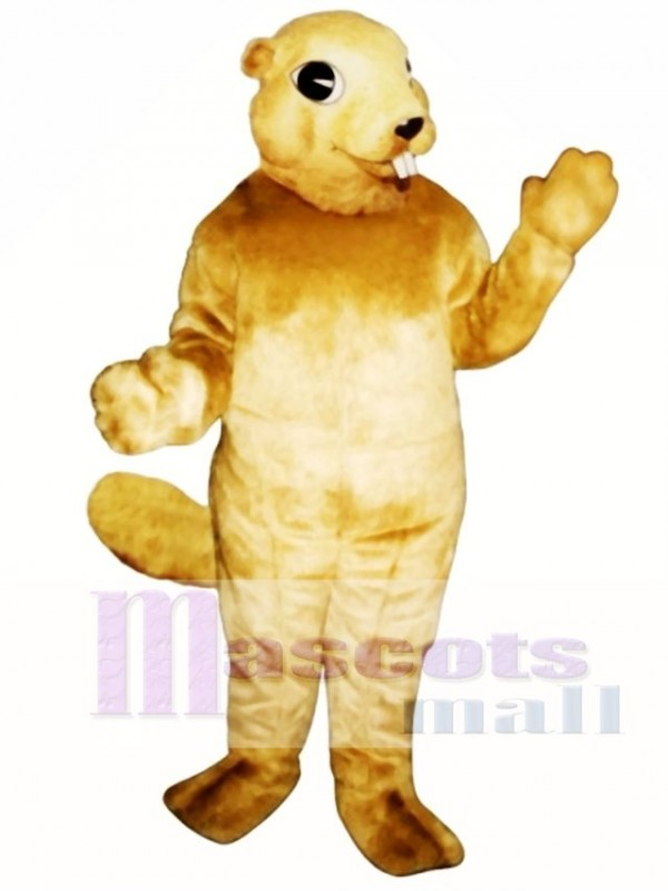 Squirrel with Teeth Mascot Costume