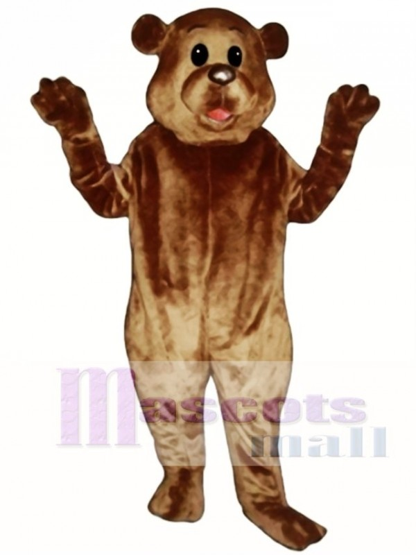 Grover Groundhog Mascot Costume