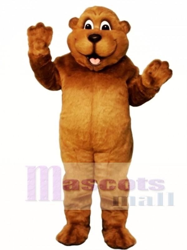 Woody Woodchuck Mascot Costume