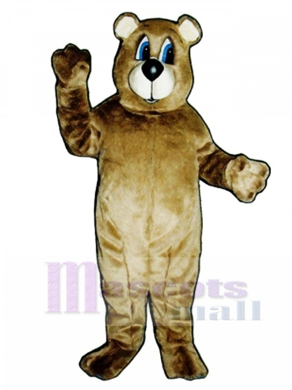 Cute Dancing Bear Mascot Costume